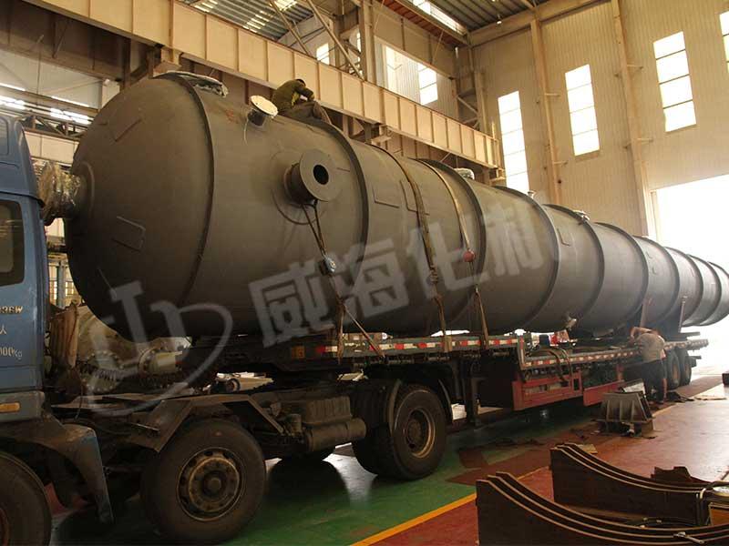 上海惠生--第二萃取精馏塔发货2.jpg